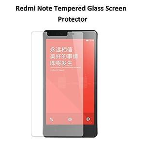 "JAIFAON Premium Xiaomi Redmi Note 5.5"" Premium Tempered Glass Screen Protector (Clear)"