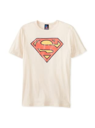 Junk Food Men's Superman Logo Short Sleeve T-Shirt (T.W.N.)