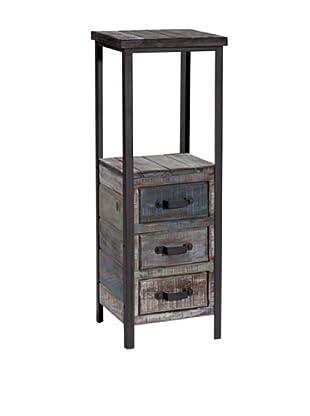 Gallerie Décor Soho Tower Table, Blue