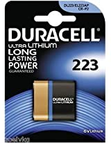 Duracell 223, CR-P2 Battery