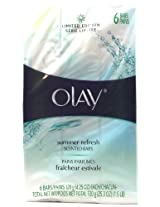 Olay Limited Edition Summer Refresh Scent Six Scented Bars Bar Soap (1 Pack)