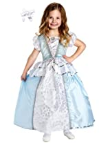 Little Adventures 11313 Cinderella Dress Costume size 5-7 with Hairbow