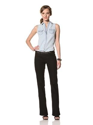 Christopher Blue Women's Valley Flare Jean (Black)