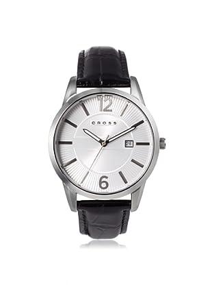 Cross Men's CR8002-02 Gotham Round Black/White Stainless Steel Watch