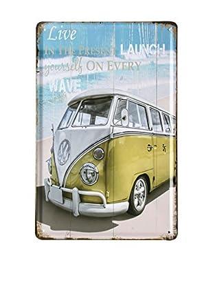 LO+DEMODA Wandbild Beach Van