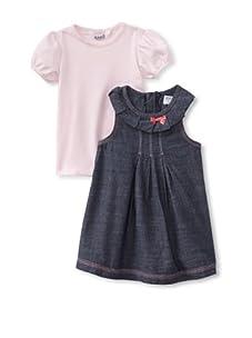 KANZ Baby 2-Piece Dress & Tee Set (Denim)
