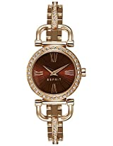 Esprit  Analog Brown Dial Women's Watch - ES107012004