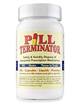 Pill Terminator Safe Pill Disposal Container