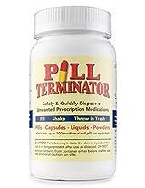 Pill Terminator Safe Pill Disposal Container