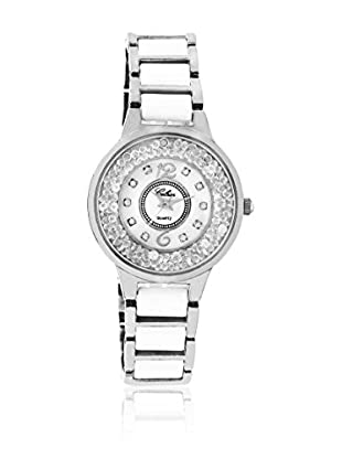 CERAM BY ART DE France Reloj de cuarzo Woman Round Blanco / Plateado 36 mm