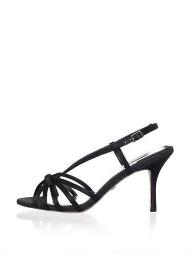 Badgley Mischka Women's Wright Slingback Sandal (Black)