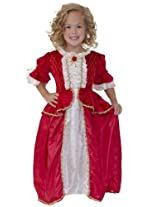 Little Adventure 11281 Red Winter Beauty Belle Dress Age 1-3 with Hair Bow