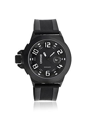 Breed Men's BRD6104 Alpha 2 Black Polyurethane Watch