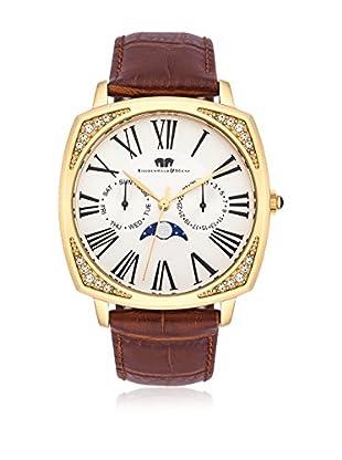 Rhodenwald & Söhne Uhr mit Japanischem Quarzuhrwerk 10010119 dunkelbraun 38  mm