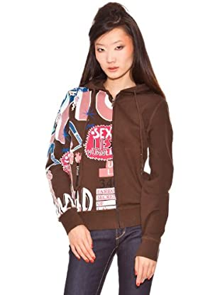 Custo Sweatshirt (Schokobraun)