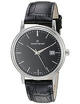 Claude Bernard Analogue Black Dial Men's Watch - 53007 3 NIN