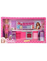 Barbie Cooking Fun Kitchen Doll, Multi Color