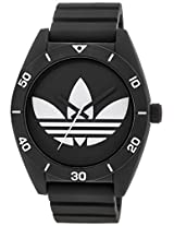 Adidas Adh2967 Santiago Watch With Textured Silicone Band - Adh2967