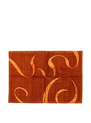 Design Community By Loomier Teppich Nepal orange 244 x 171 cm