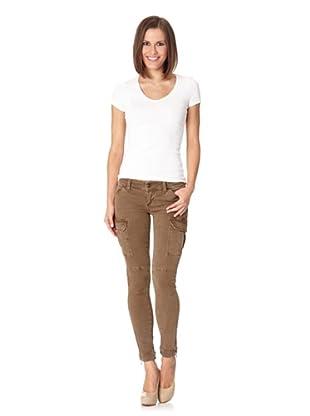 Lotus Jeans Mia Skinny Cargo (Olive Green)