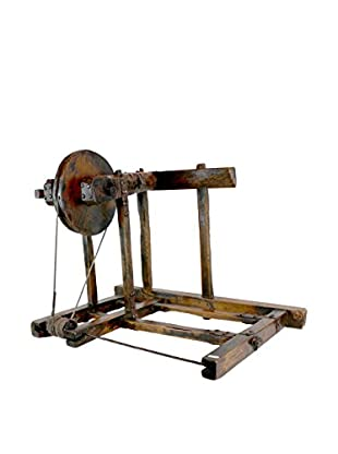 Asian Loft 19th Century Chinese Yard Spinner
