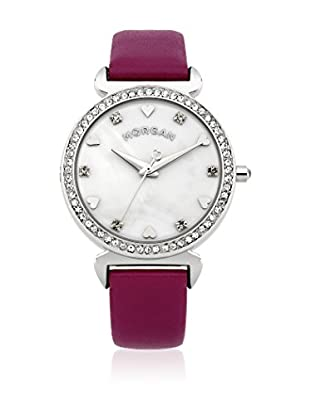 Morgan de Toi Orologio al Quarzo Woman M1160V Viola 35 mm