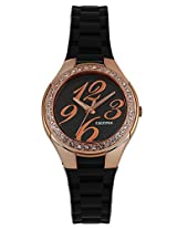 Calypso Black PU Analog Women Watch K5637 2
