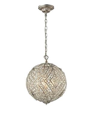 Artistic Lighting Renaissance Collection 5-Light Pendant, Sunset Silver