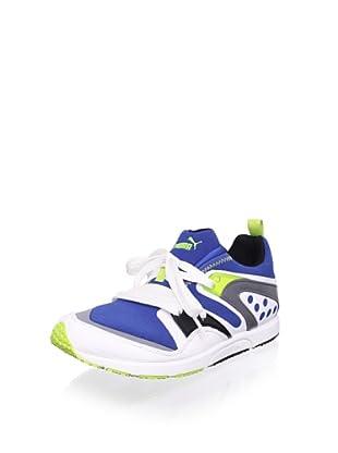 PUMA Men's Blaze Of Glory Sneaker (Snorkel Blue/White/Steel Grey)