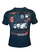 Peter England Mid Blue T-Shirt
