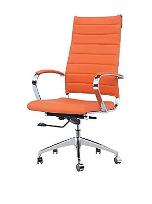 Manhattan Living Sopada Conference Office Chair, Orange