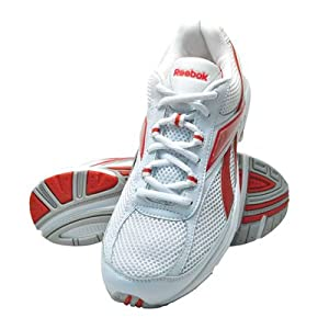 Reebok White And Red Men's Sport Shoes