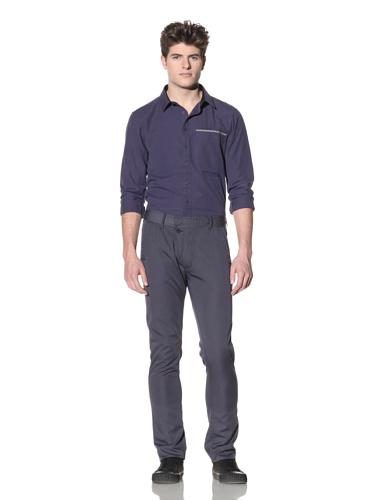 ZAK Men's Lightweight Straight Pant (Faded Blue)