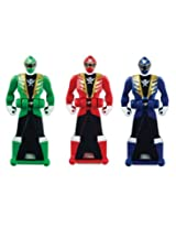 Power Rangers Super Megaforce Legendary Ranger Key Pack Red/Blue/Green