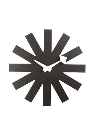 Mid Century Modern Asterisk Clock