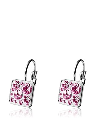 Bohemian Love Story Pendientes Square Crystal