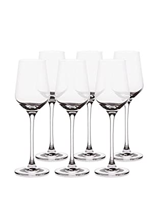 BergHOFF Set of 6 Chateau 8.5-Oz White Wine Glasses