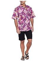 Very Me Men's Casual Shirt_1111_Purple_48