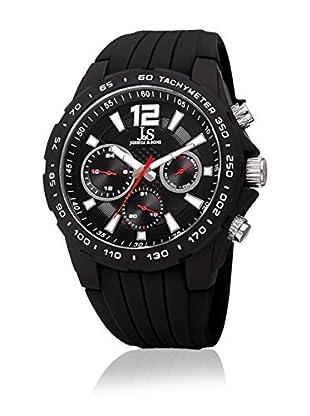 Joshua & Sons Reloj de cuarzo Man JX126BK 46 mm