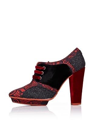 Desigual Zapatos Tacón (Rojo)