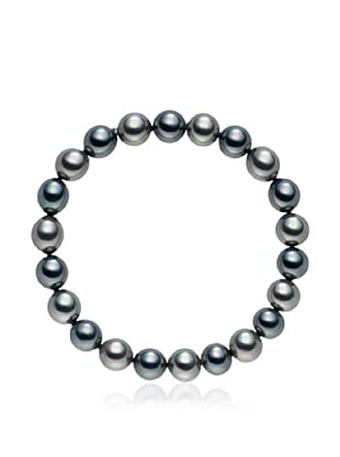 Pearls of London Armband  anthrazit/silber
