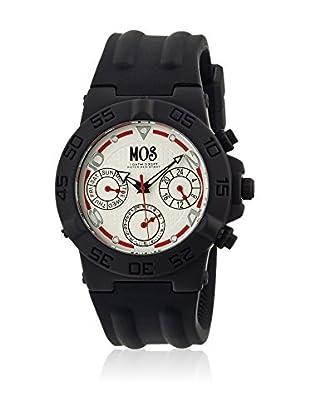 Mos Reloj con movimiento cuarzo japonés Mosam102 Negro 44  mm