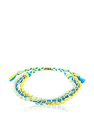 Ettika Ocean/Yellow/Blue Forever Friendship Bracelet