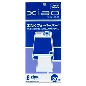 タカラトミー Xiao シャオ ZINKフォトペーパー 10枚撮り 2個入り