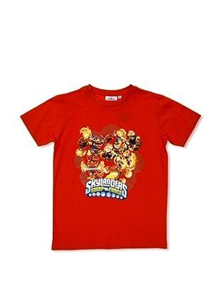 Licencias Camiseta Skylanders (Rojo)