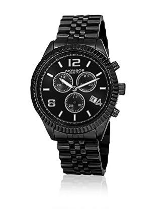 Akribos XXIV Reloj con movimiento cuarzo suizo Man AK799BK 42 mm