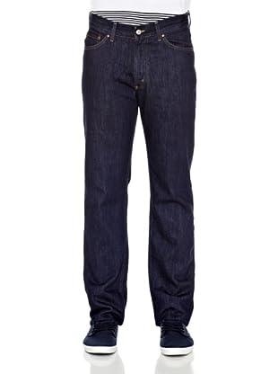 Carrera Jeans Pantalón Denim 15 Oz Con Zip (Azul Oscuro)
