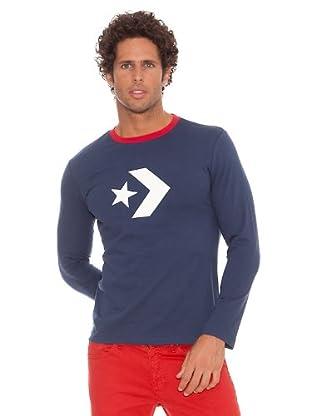 Converse Camiseta T-Resistance (Azul Marino)