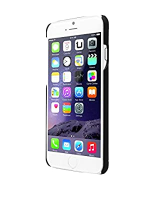 UNOTEC Funda Metal iPhone 6 / 6S Negro