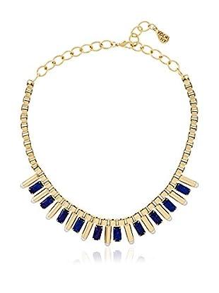 Yochi Lapis Pearl Pop Necklace